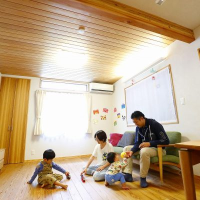 枚方市で家を建てた家族