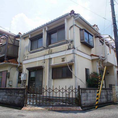 枚方市津田駅前の売り土地