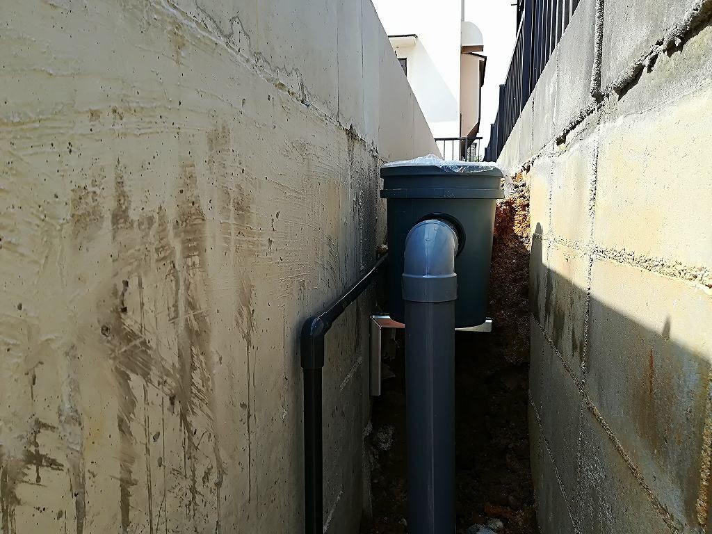 枚方市藤阪東町4丁目の家の給排水