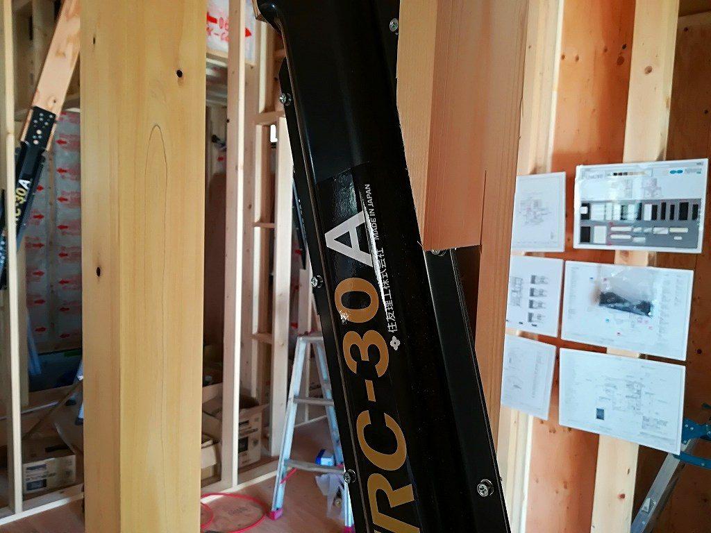 木造住宅の制震ダンパー