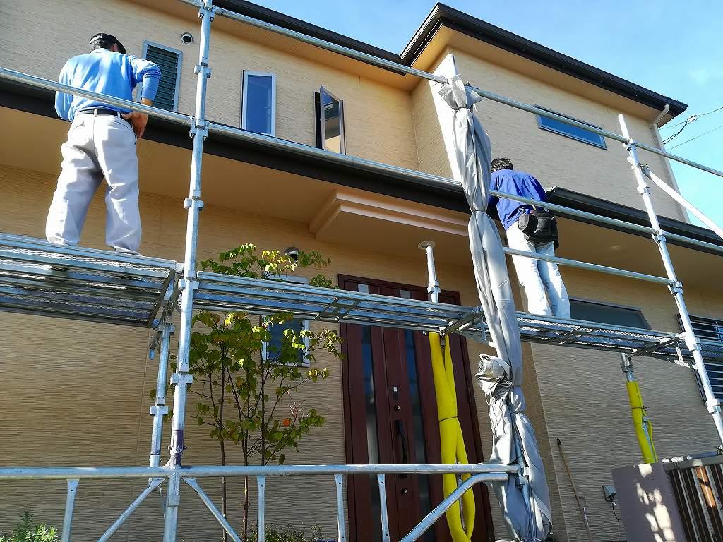 枚方市長尾東町の家の屋根リフォーム工事