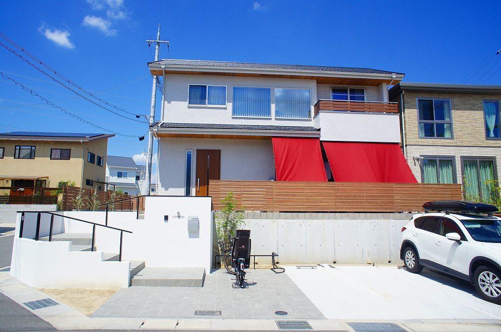 京田辺市の家の外観