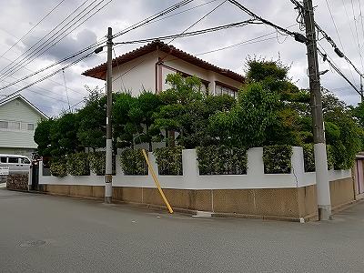 川西市緑台の新築予定地