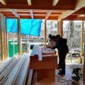 注文住宅の構造見学会