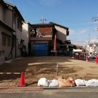 藤阪元町三丁目の家の土地