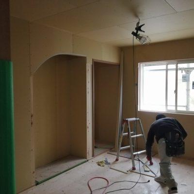 和室床の間造作
