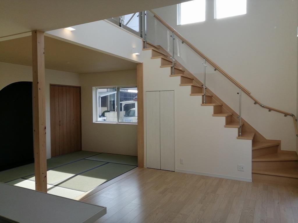 枚方市杉山手の家の完成