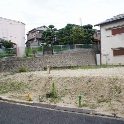 枚方市藤阪中町の建設用地